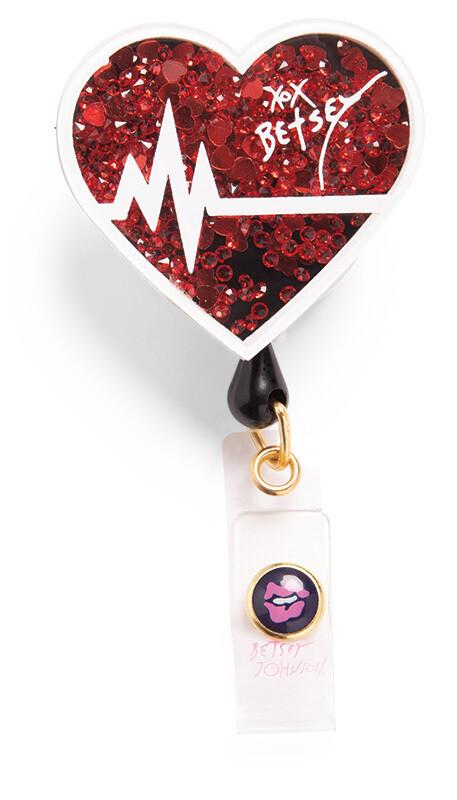 Accessori Koi Porta Badge EKG Heart