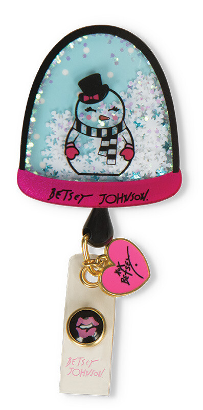 Accessori Koi Porta Badge Snow Globe