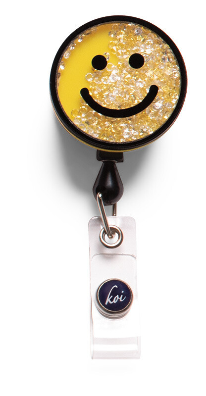 Accessori Koi Porta Badge Smiley Face