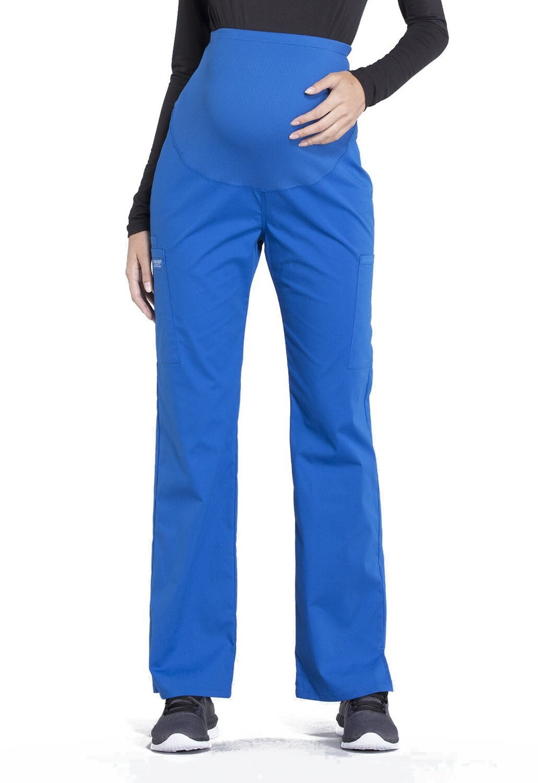 Pantalone MATERNITY per Donna Incinta WW220 Royal