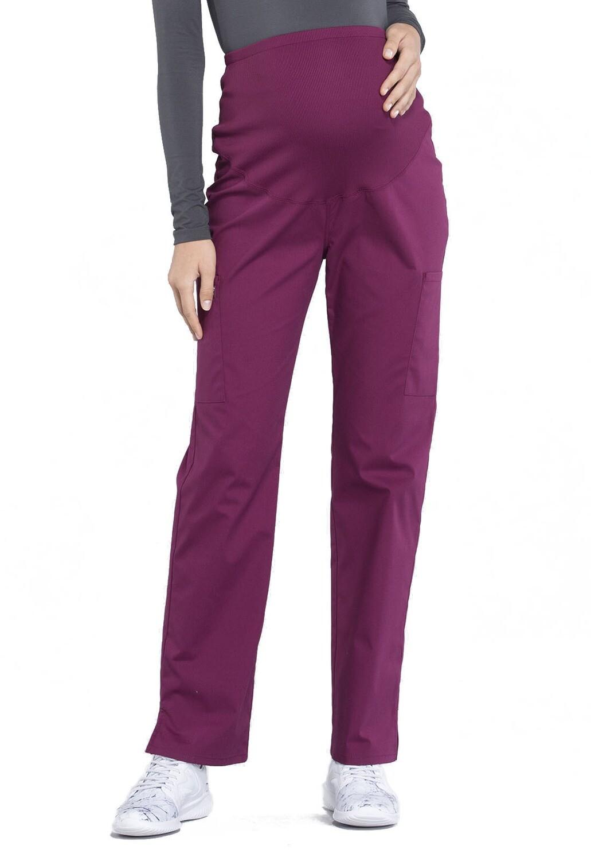Pantalone MATERNITY per Donna Incinta WW220 Wine
