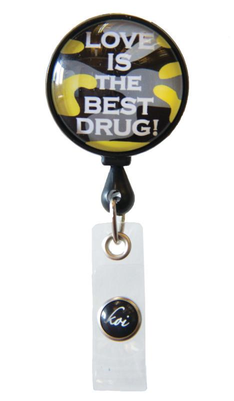 Accessori Koi Porta Badge Love Drug
