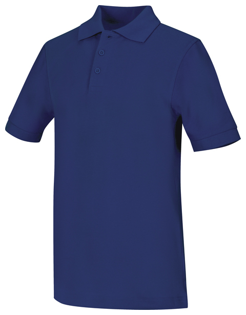 Polo Code Happy 58324 Unisex Colore Royal