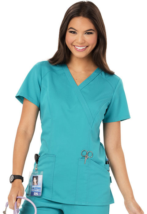 Casacca Code Happy CH601A Donna Colore Teal - FINE SERIE