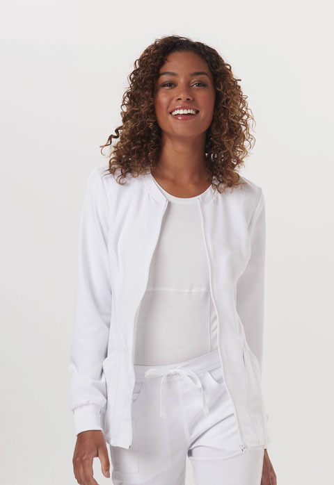 Giacca Code Happy CH312A Donna Colore White - FINE SERIE