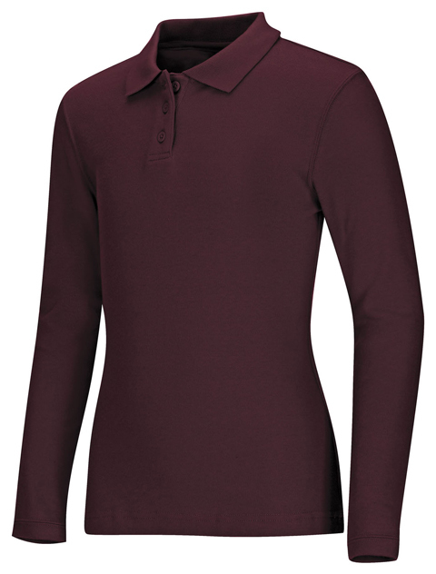 Polo Code Happy 58544 Unisex Colore Burgundy