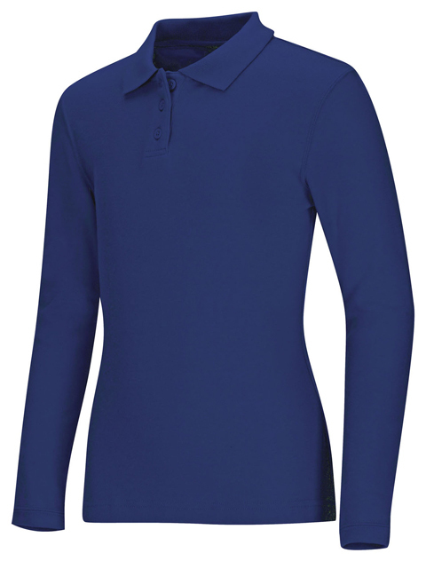 Polo Code Happy 58544 Unisex Colore Royal
