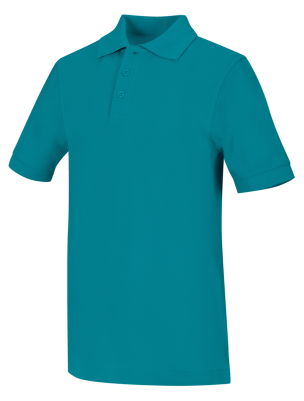 Polo Code Happy 58324 Unisex Colore Teal