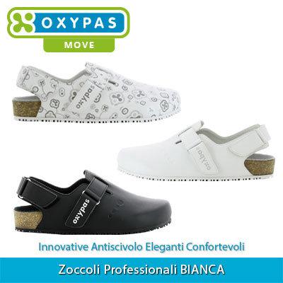 Zoccoli Professionali Oxypas BIANCA