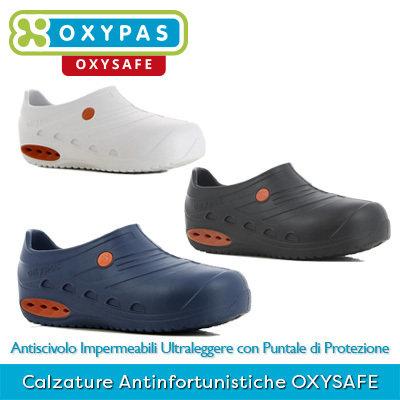 Scarpe Professionali Antinfortunistiche con Puntale di Protezione OXYSAFE