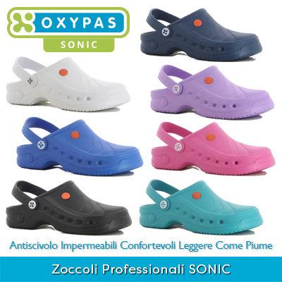 Zoccoli Professionali Oxypas SONIC