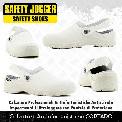 Scarpe Antinfortunistiche con Puntale di Protezione Safety Jogger CORTADO