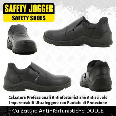 Scarpe Antinfortunistiche con Puntale di Protezione Safety Jogger DOLCE