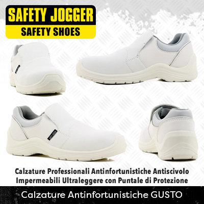 Scarpe  Antinfortunistiche con Puntale di Protezione Safety Jogger GUSTO