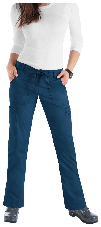 Pantalone KOI STRETCH LINDSEY Donna Colore 98. Deep Sea - COLORE FINE SERIE