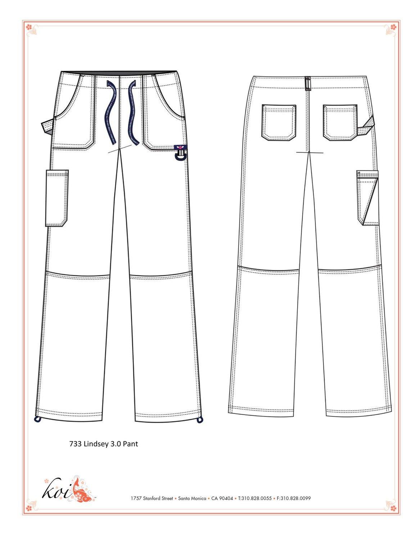 Pantalone KOI STRETCH LINDSEY 3.0 Donna Colore 77. Charcoal