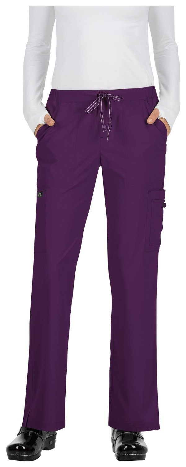 Pantalone KOI BASICS HOLLY Donna Colore 105. Eggplant