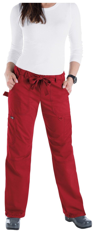 Pantalone KOI CLASSICS LINDSEY Donna Colore 22. Ruby