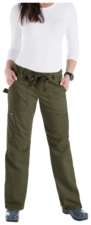 Pantalone KOI CLASSICS LINDSEY Donna Colore 57. Olive Green