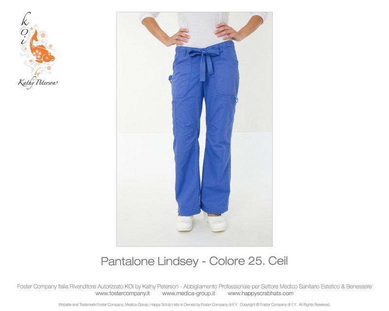 Pantalone KOI CLASSICS LINDSEY Donna Colore 25. Ceil - FINE SERIE
