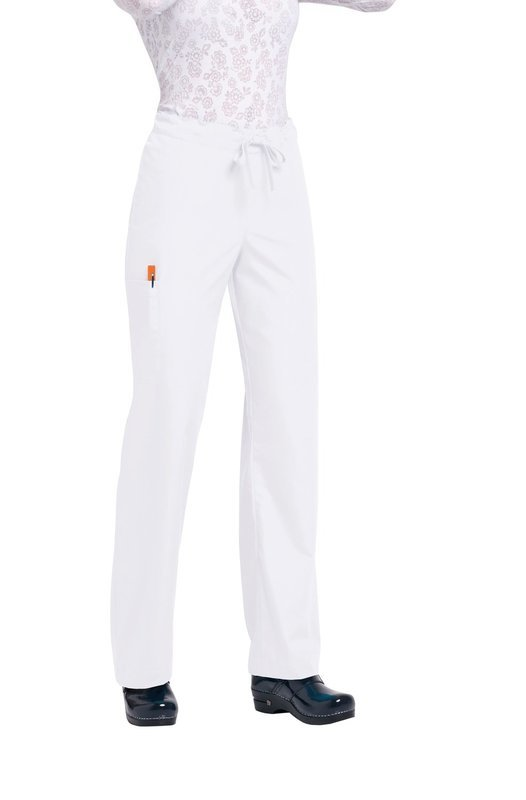 Pantalone ORANGE HUNTINGTON Colore 01. White