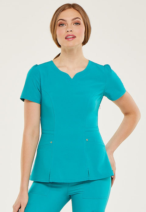 Casacca HEARTSOUL HS670 Donna Colore Teal Blue - COLORE DI FINE SERIE