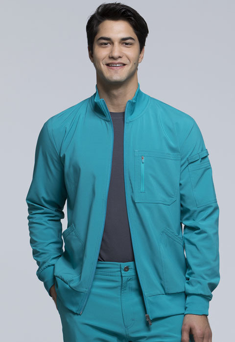 Giacca CHEROKEE INFINITY CK305A Colore Teal Blue - FINE SERIE