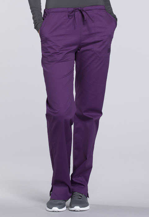 Pantalone CHEROKEE CORE STRETCH WW130 Colore Eggplant