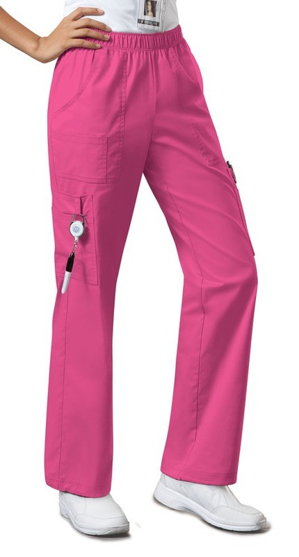 Pantalone CHEROKEE CORE STRETCH 4005 Colore Shocking Pink