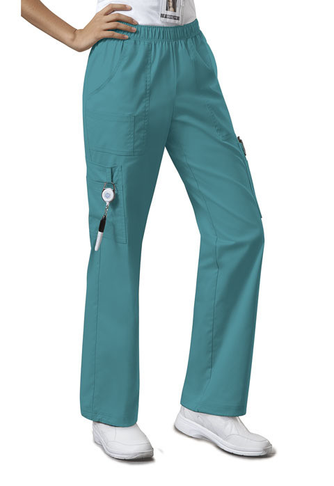 Pantalone CHEROKEE CORE STRETCH 4005 Colore Teal Blue