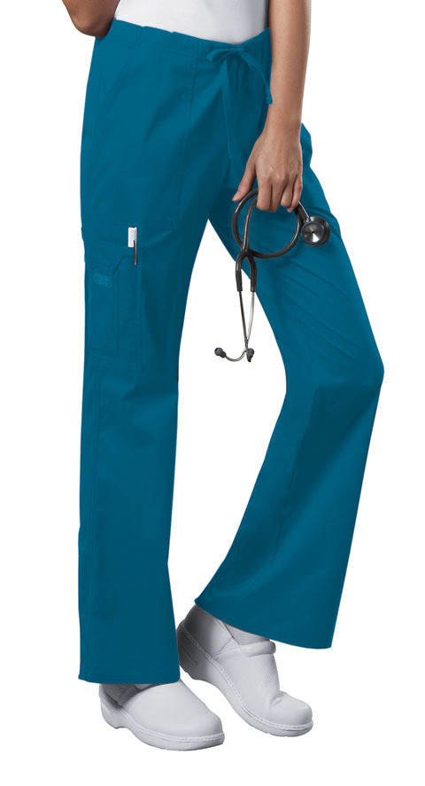 Pantalone CHEROKEE CORE STRETCH 4044 Colore Caribbean Blue