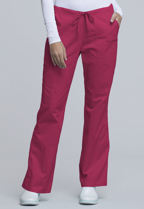Pantalone CHEROKEE CORE STRETCH 4044 Colore Cerise