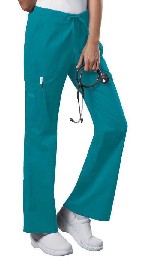 Pantalone CHEROKEE CORE STRETCH 4044 Colore Teal Blue
