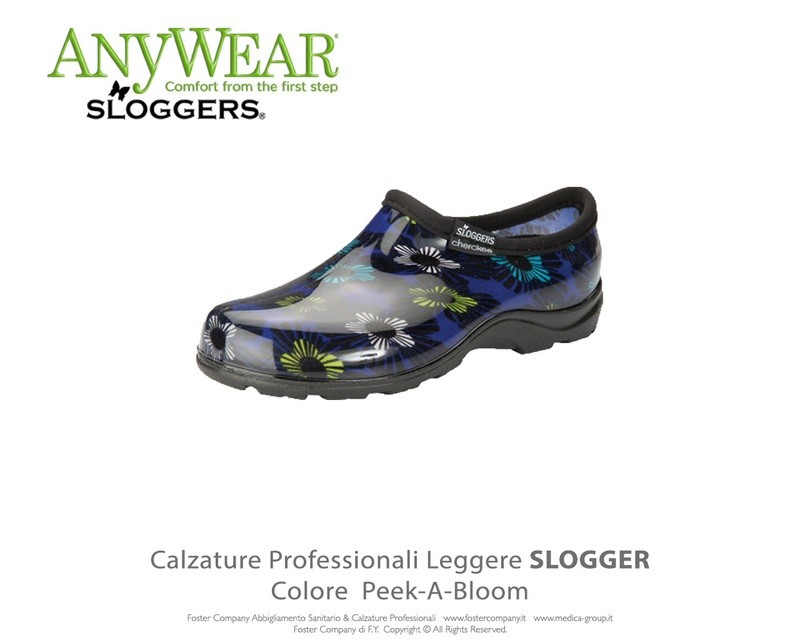 Calzature Professionali Anywear SLOGGER Colore Peek-A-Bloom
