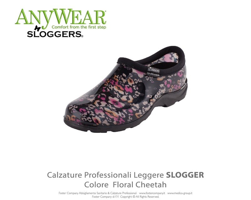 Calzature Professionali Anywear SLOGGER Colore Floral Cheetah