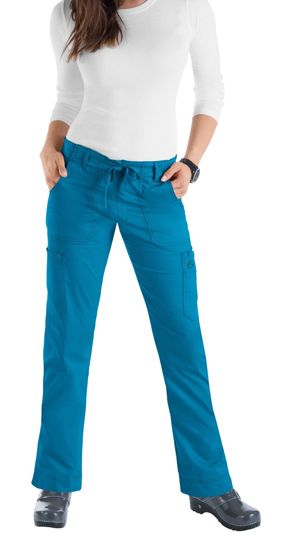 Pantaloni KOI STRETCH Lindsey Colore 78. Ultramarine - COLORE FINE SERIE