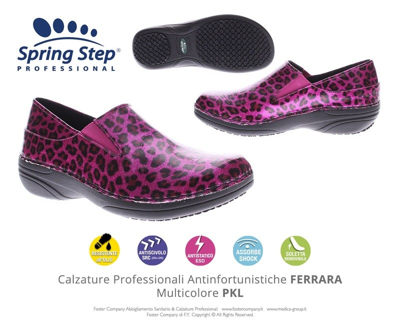 Calzature Professionali Spring Step FERRARA Multicolore PKL