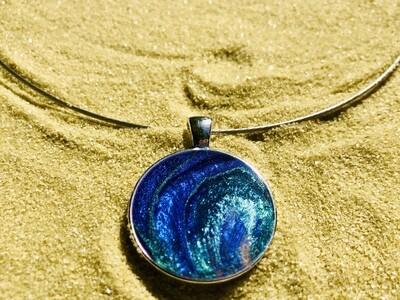Swirling Ocean Necklace