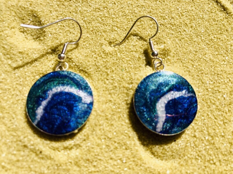 Ocean Surf Earrings