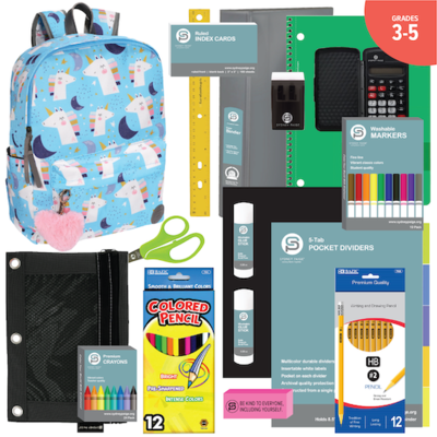BACKPACK ASSEMBLY KIT (3-5) GIRLS: New 17