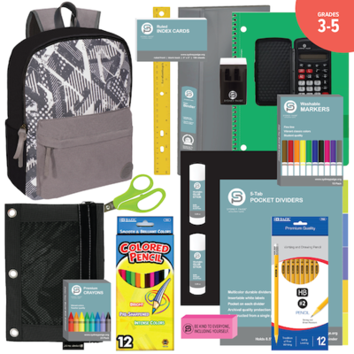 BACKPACK ASSEMBLY KIT (3-5) BOYS: New 17