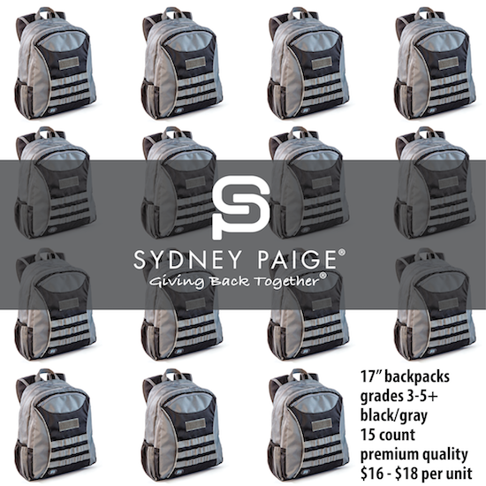 "BUY IN BULK | Sydney Paige 17"" Premium Backpacks 