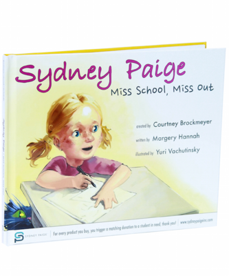 Buy 1 Give 1 Sydney Paige Children's Book | Miss School, Miss Out