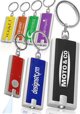 Rectangle Light Keychains