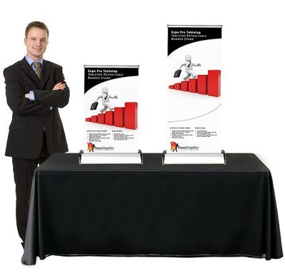 Retractable Table Banner Design & Printing