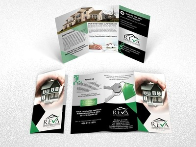 Brochure Printing Size 8.5 x 11