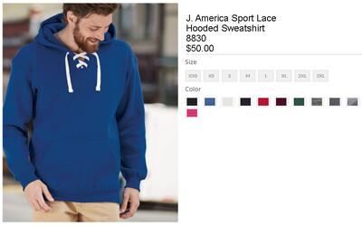 Pullover Hockey Hoodie