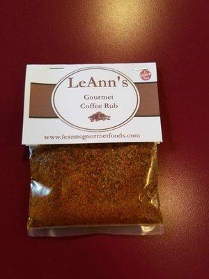 LeAnn's Gourmet Coffee Rub