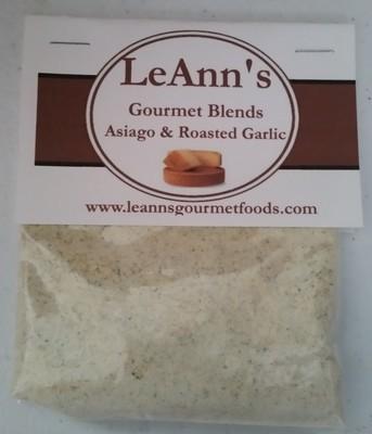 LeAnn's Gourmet Asiago & Roasted Garlic