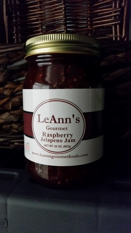 LeAnn's Gourmet Raspberry Jalapeno Jam